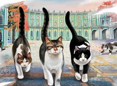 Mačke iz Ermitaža